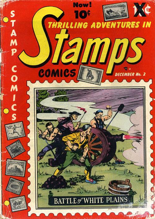 Thrilling Adventures in Stamps Comics