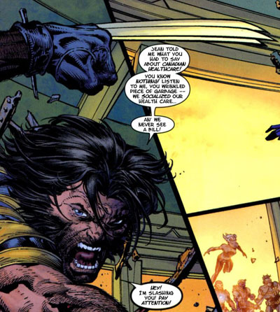 Wolverine on Canadian Health Care